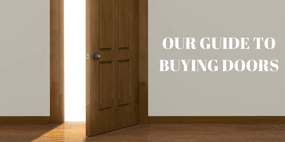 Our Guide to Buying Doors