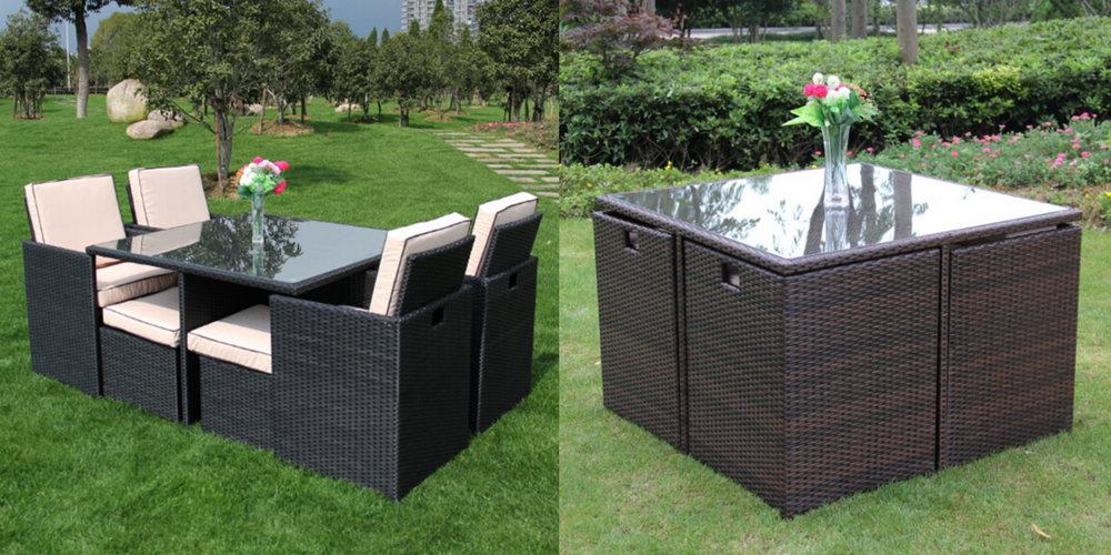 Compact Garden Furniture Solutions