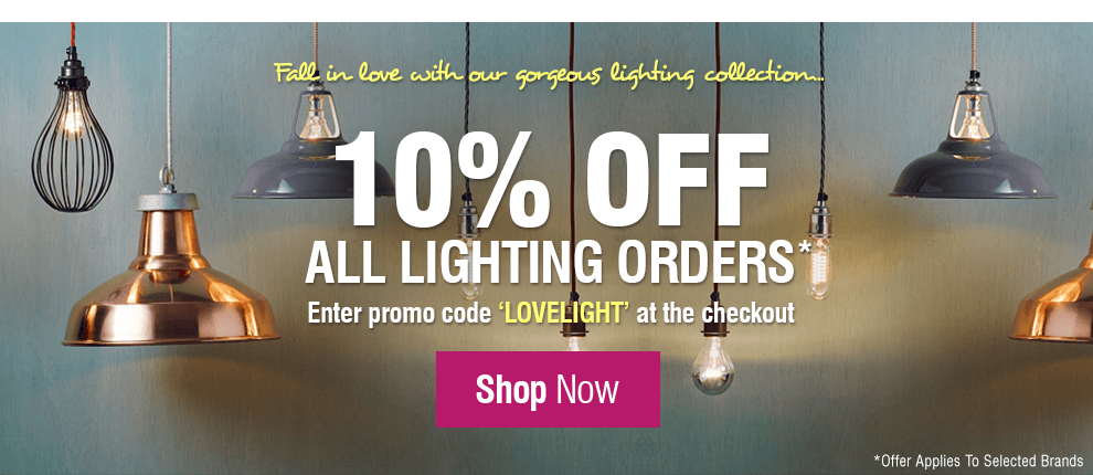 Fall In Love With Our Lighting Collection at Leader Stores