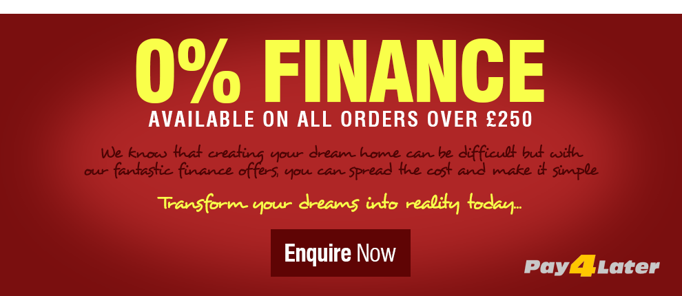 0% Interest Free Finance at Leader Stores!