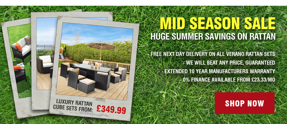 Mid Season Rattan Furniture Sale!