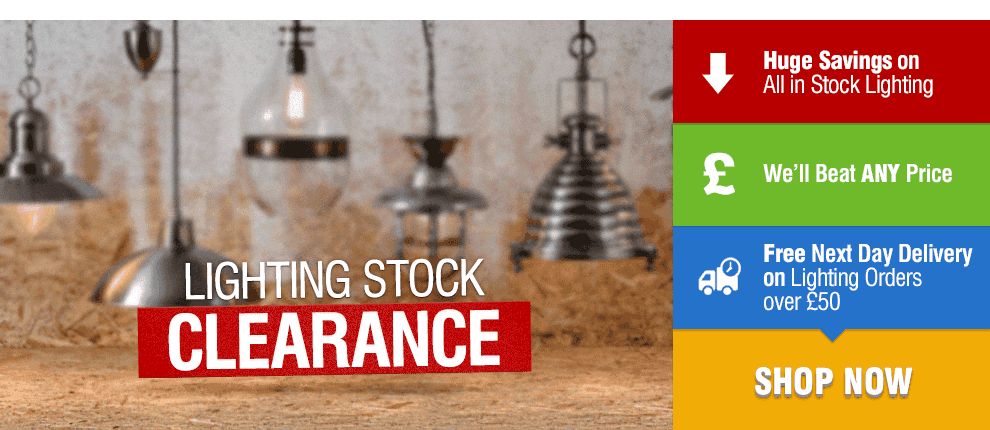 Huge Lighting Stock Clearance Sale at Leader Stores