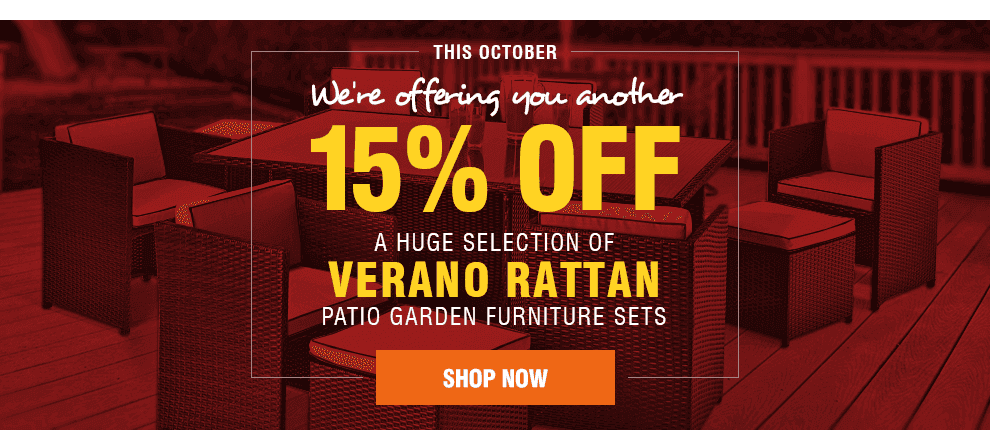 Final End of Summer Reductions on Rattan Furniture!