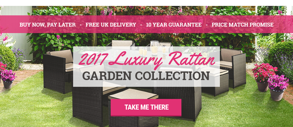 2017 Luxury Rattan Furniture Collection