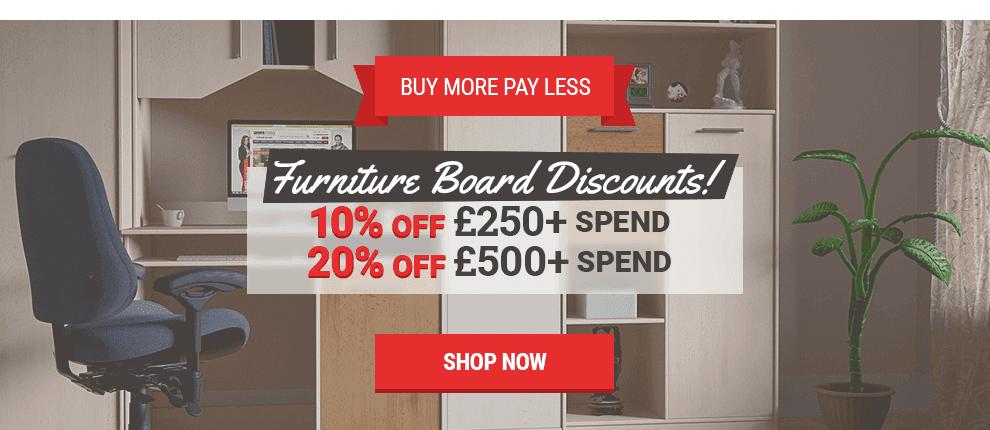 May Furniture Board Sale
