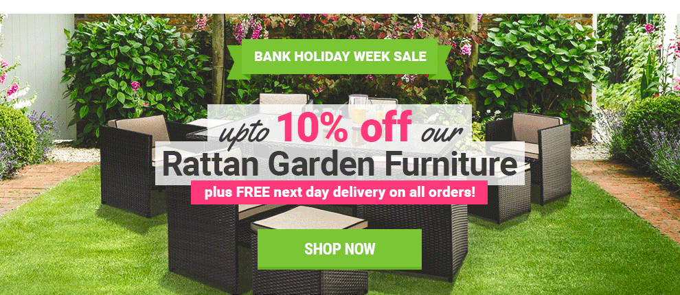 August Bank Holiday Rattan Offers