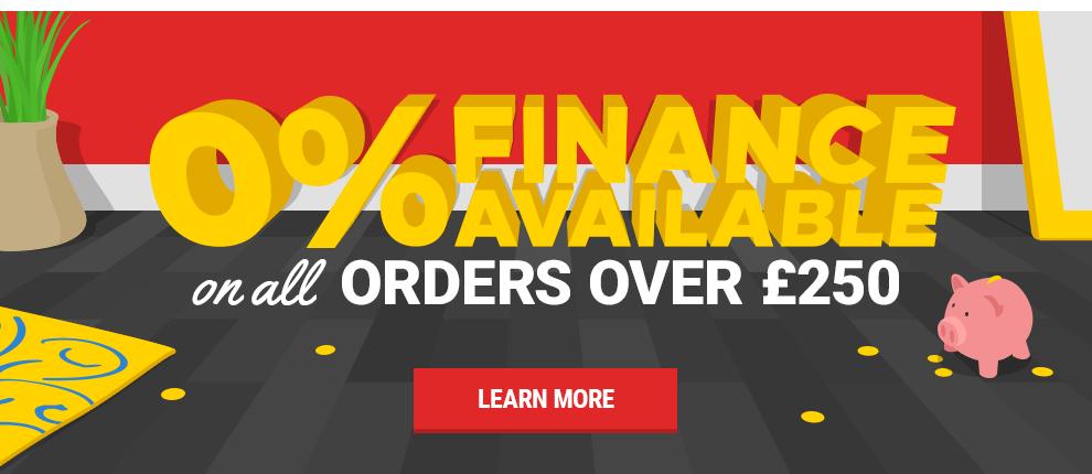 0% Interest Free Finance at Leader Stores!