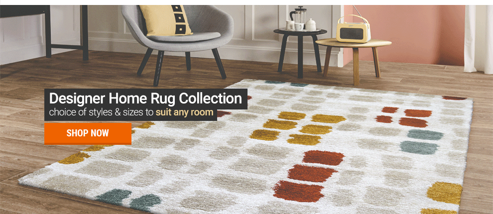 Luxurious Designer Rugs at Leader Stores