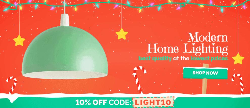 December 10% off Home Lighting