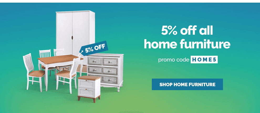 June - 5% off all Home Furniture