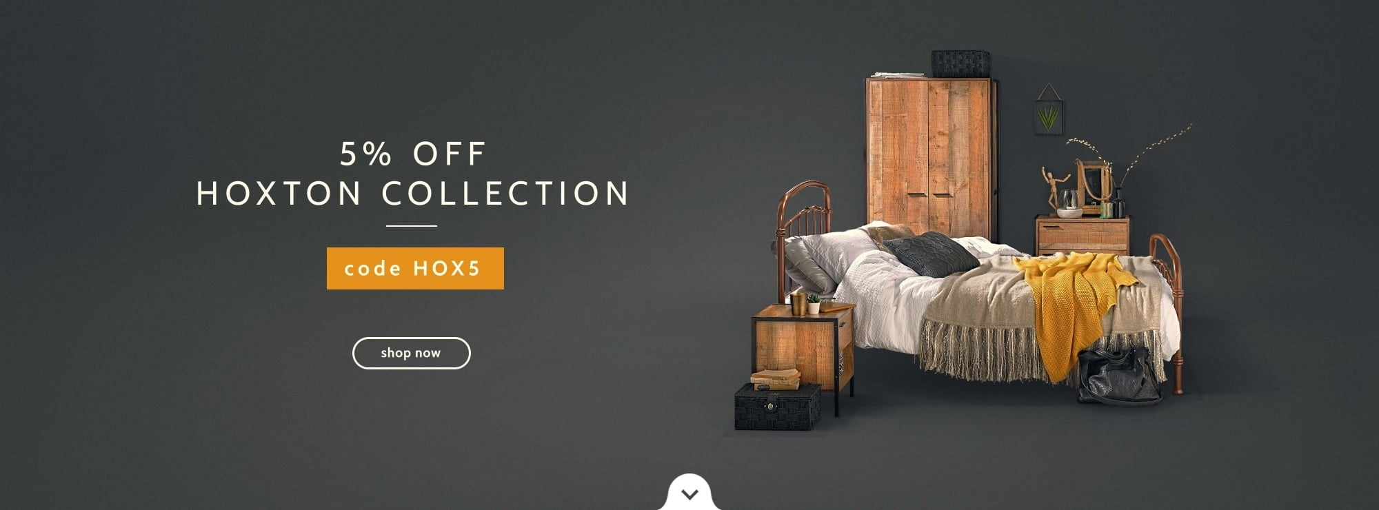5% off Hoxton furniture collection