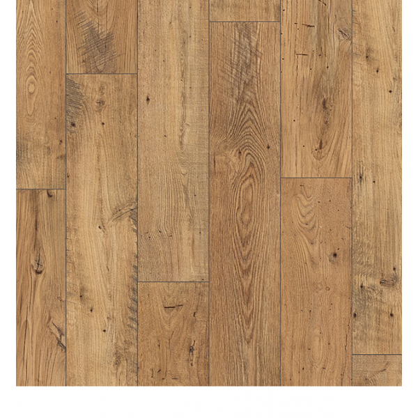 Perspective 4 Way Wide Reclaimed Chestnut Natural Laminate Flooring