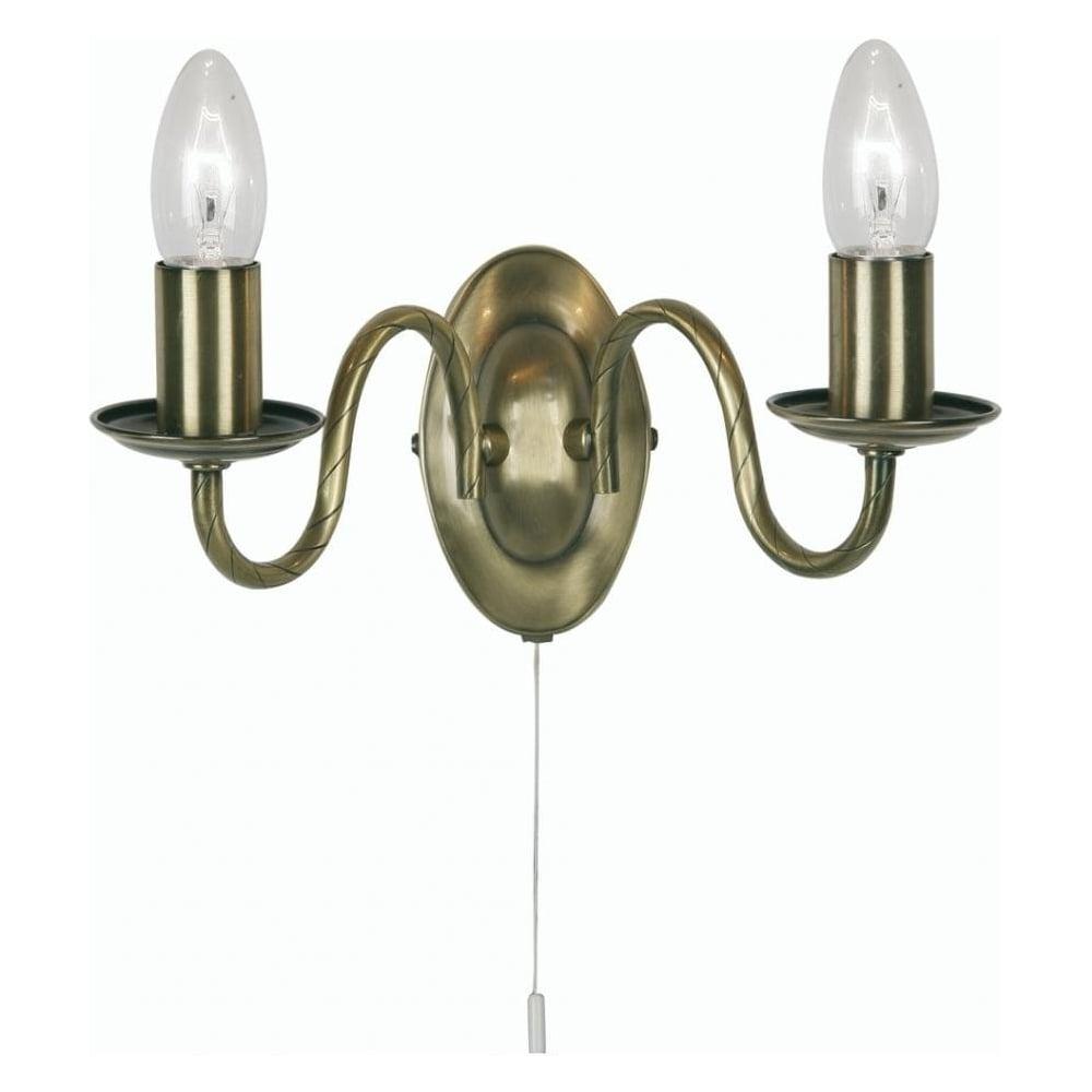 Decorative Nadrr Antique Brass Wall Light Light
