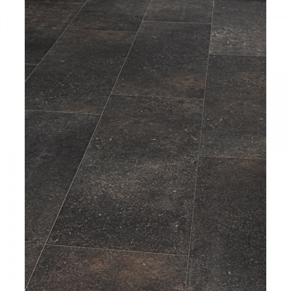 Pure Stone Tile Effect Belgian Blue Honed Laminate Flooring (644)