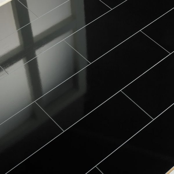 Supergloss Black Micro V5 Groove Laminate Flooring