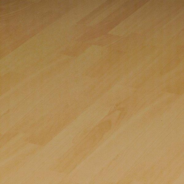 Supergloss Strip Beech Flat Edge Laminate Flooring