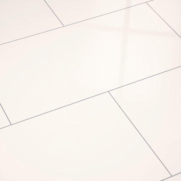 Supergloss White Maxi V5 Micro Groove Laminate Flooring