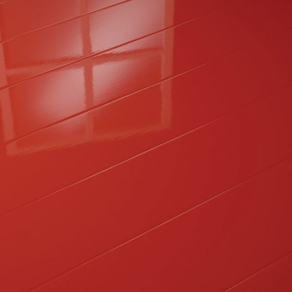 Supergloss Extra Sensitive Elesgo Red Laminate Flooring