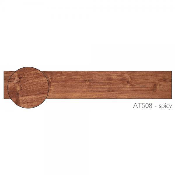 Spicy Oak Vinyl Flooring (AT-508)