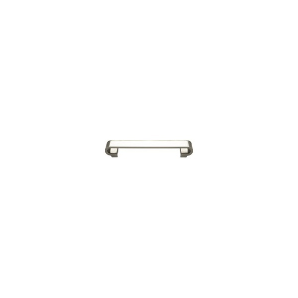 25mm Thick Brushed Nickel H919 D Handle
