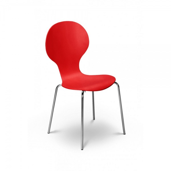 Keeler Chair  Tomato