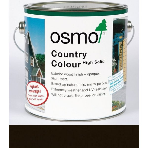Country Colour Dark Brown (2607) - 2.5L Container