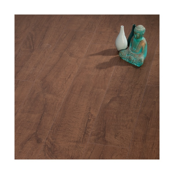 Vivo Trend Loiret Oak Brown 4V Groove 8mm Laminate Flooring