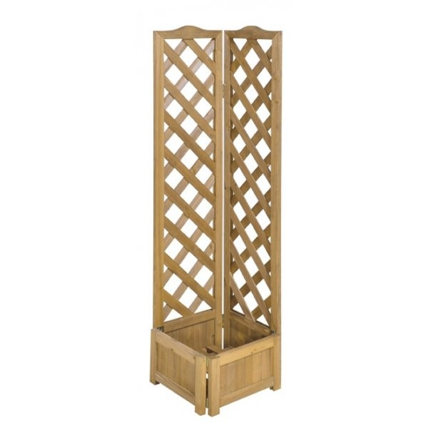 buy cheap planter with trellis compare garden tools
