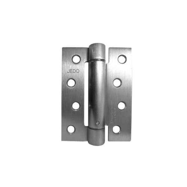 Satin Chrome -102 x 76mm 30 Minute Fire Tested- Spring Hinge