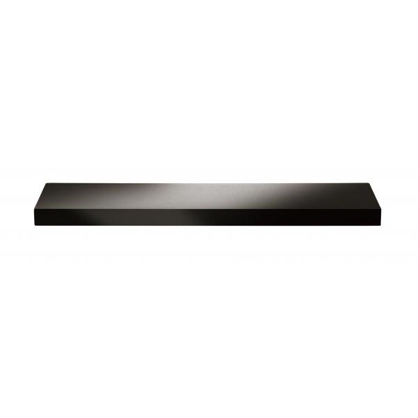 1000mm Black High Gloss Shelf