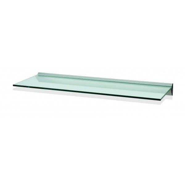 800mm Aluminium Clear Glass Shelf