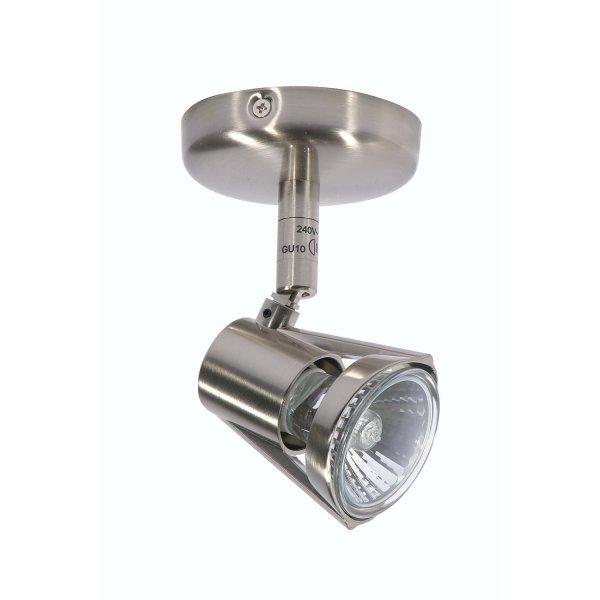 Romore Antique Chrome Single Spotlight