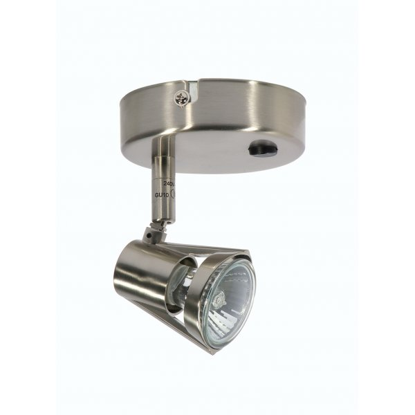 Romore Antique Chrome Single Switched Spotlight