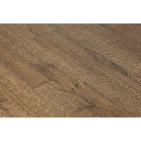Vario 12mm Kolberg Oak 4v Groove Laminate Flooring (8786)