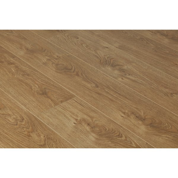 Vario 12mm Albany Oak 4v Groove Laminate Flooring (8635)