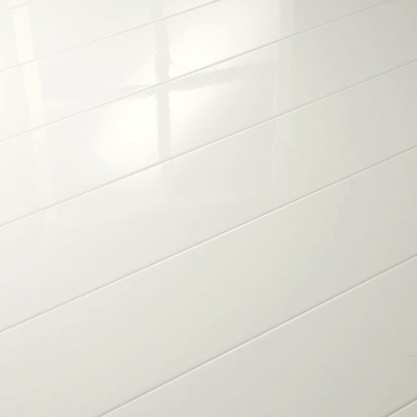 Supergloss Extra Sensitive White Laminate Flooring