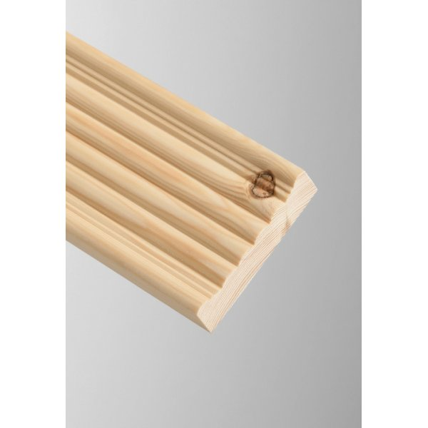 Cheshire Mouldings Reed Pine 2.4m Architrave