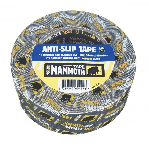 Everbuild  Mammoth Anti Slip Black Tape (50mm x 10mtr)