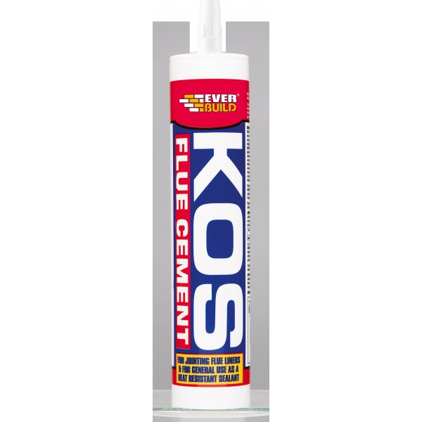 Everbuild  KOS Buff Flue Cement Cartridge 300ml