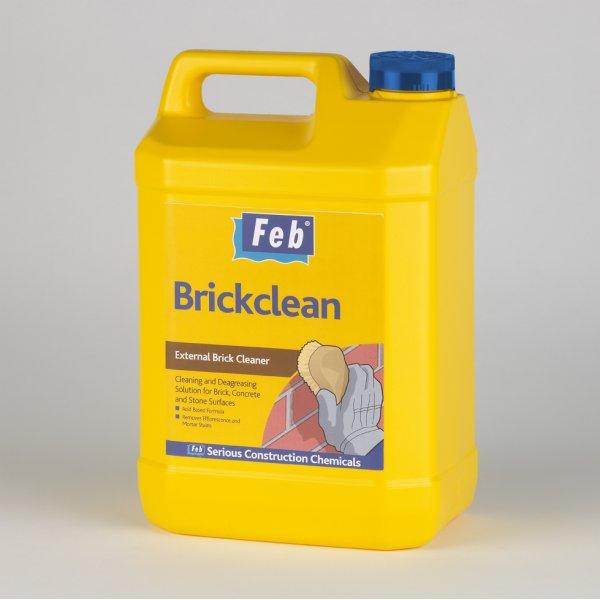 Everbuild  FEB Brickclean External Clear Brick Cleaner 5LTR