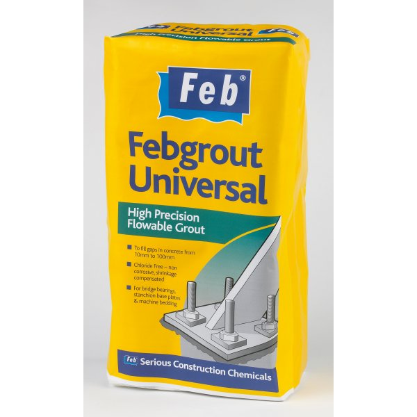 Everbuild - Febgrout Universal High Precision Flowable Grout 25kg