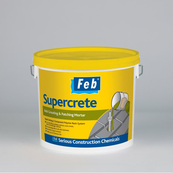 Everbuild - FEB Supercrete Bolt Grouting And Patching Mortar (15KG)