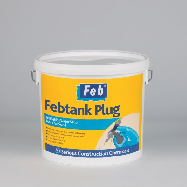 Everbuild - Febtank Plug Water Stop Repair Compound 5kg