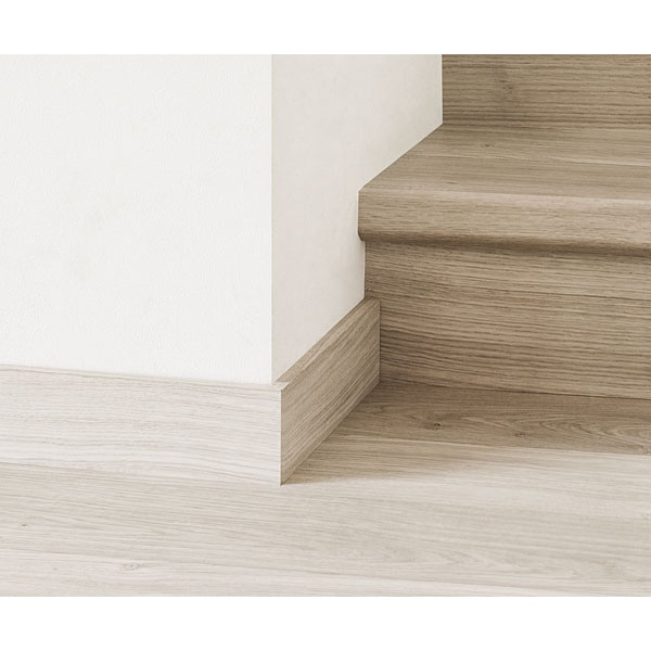 Castello Dune White Oak Oiled Colour Match Parquet 77mm Skirting Board