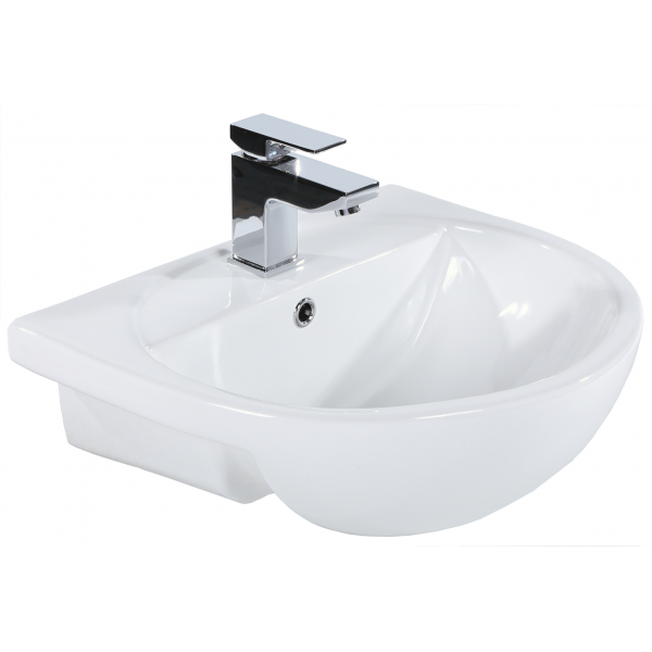 Donna Semi Recessed Basin
