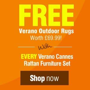 Free outdoor Verano rug