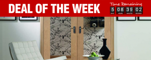 Deal of The Week - 43% Off WD+ Pattern 10 Doors with Clear Bevelled Glass