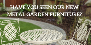 Metal Garden Furniture at Leader Stores