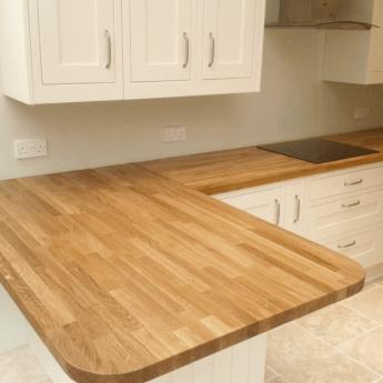 Leader 18mm Solid European Oak Furniture Board (2.4m), Euro Oak