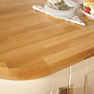 18mm Solid Oak Furniture Board